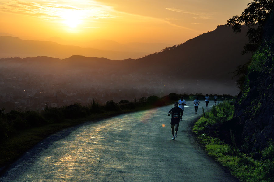 Satara Hill marathon Route pic